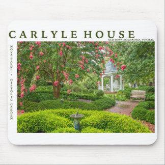 Carlyle hus och historisk trädgård musmatta