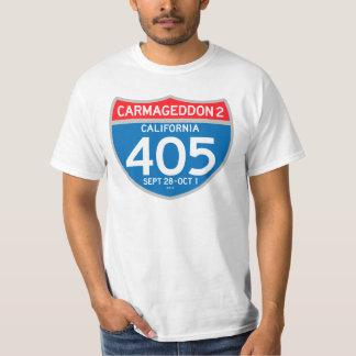 CARMAGEDDON 2 på 405na (den ljusa skjortan) Tshirts
