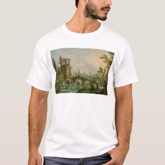 Carmontelle som ger nycklarna av Parcen T-shirts