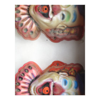 Carney clowner brevhuvud