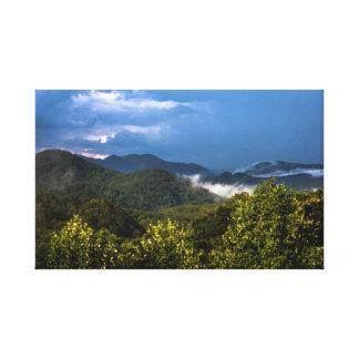 Carolina berg canvastryck