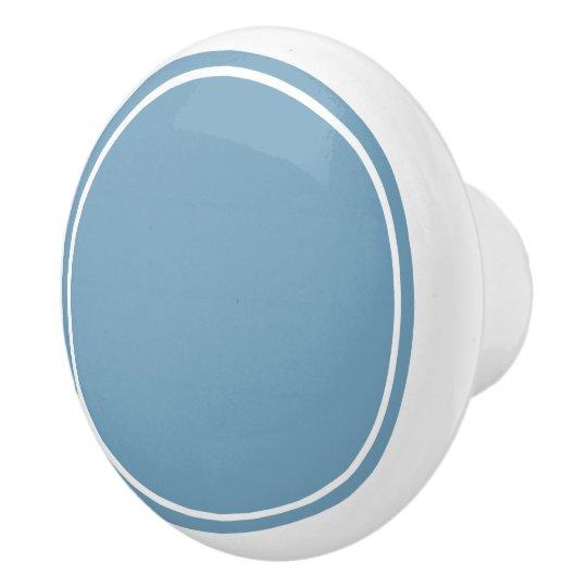 Carolina blått och vit knopp