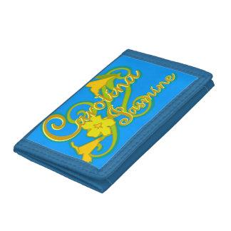 Carolina jasminplånbok (blått)