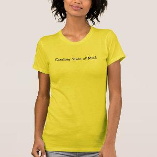 Carolina som är statlig av, varar besvärad tee shirts