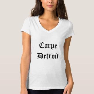 Carpe Detroit kvinnor Tee Shirt