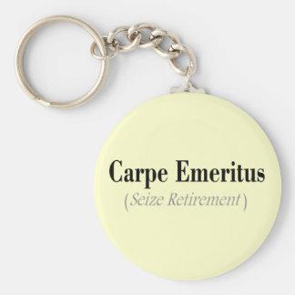 Carpe Emeritus (gripa pensionen), gåvor Rund Nyckelring