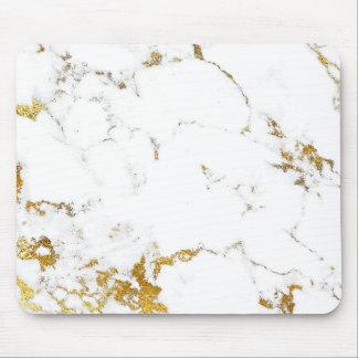 Carrara för abstrakt vitgrått guld- marmor Urban Musmatta