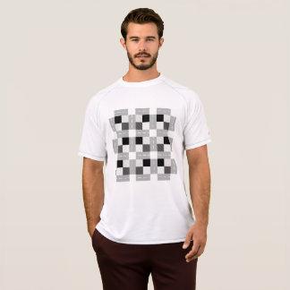 Carta/torr manar mästaredubbla kopplar ihop t-shirt