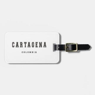 Cartagena Colombia Bagagebricka