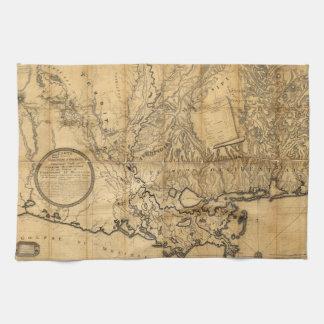 Carte Générale Du Territoire D'Orléans (1806) Kökshandduk