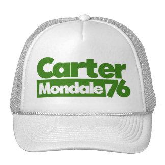 Carter Mondale 1976 Retro politik Keps