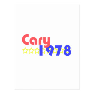 Cary 1978 vykort