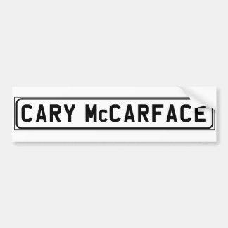 Cary McCarface bildekal