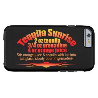 Cases för Tequilasoluppgångtelefon Tough iPhone 6 Case