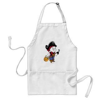 Casper i piratdräkt förkläde