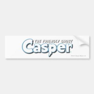Casper vitlogotyp bildekal