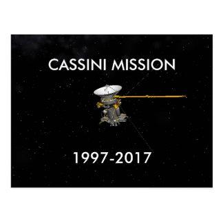 CASSINI-BESKICKNINGVYKORT 1997-2017 VYKORT