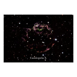 Cassiopeia A Poster