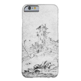 Castel Cogolo per Andar en Trento (skriva & bläck Barely There iPhone 6 Skal