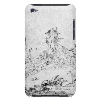 Castel Cogolo per Andar en Trento (skriva & bläck iPod Touch Fodral
