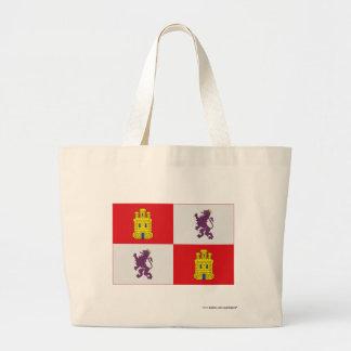 Castilla y León flagga Kassar