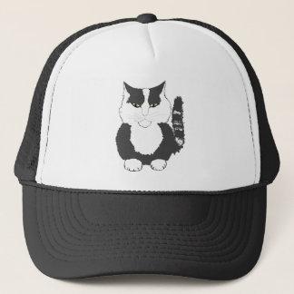 Cat. för tecknadMaine Coon Truckerkeps