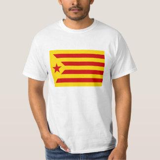 catalonia flagga t-shirt