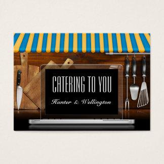 Caterer/restaurang/Kock-SRF Visitkort