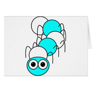 Caterpillar Hälsningskort