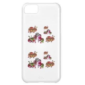 Caterpillar och grafisk nyckelpiganyckelpiga iPhone 5C fodral