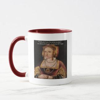Catherine av gåvor & kort för Aragon Mugg