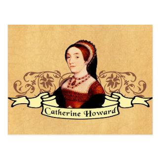 Catherine Howard klassiker Vykort