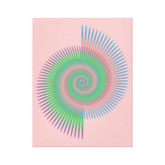 Catherine rullar spiral canvastryck