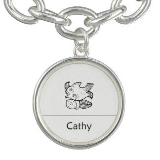 Cathy i Mayan Pendent Armband