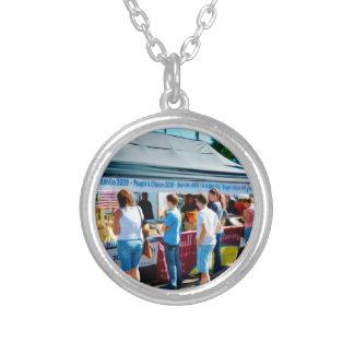 Catskill bergcatering silverpläterat halsband