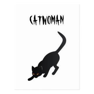 Catwoman Vykort