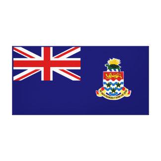 Cayman Islands - Caymanian flagga Kanvastryck