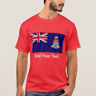 Cayman Islands - Caymanian flagga T-shirts