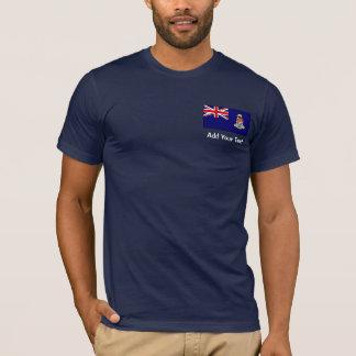 Cayman Islands - Caymanian flagga Tshirts