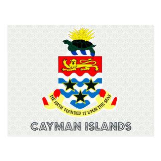 Cayman Islands vapensköld Vykort