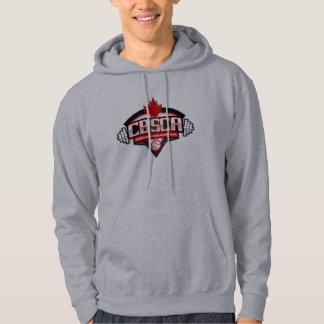 CBSCA-manar de grundläggande Hooded grå färg för Hoodie