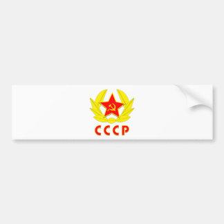 cccp ussr bultar och skäraemblemen bildekal