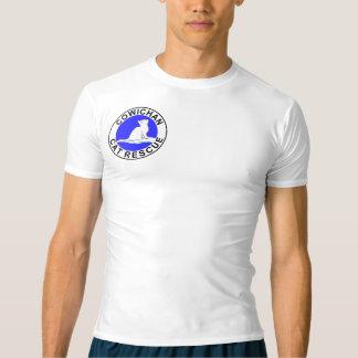 CCR-logotyp/rosa kattsilhouette T-shirts
