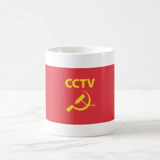 CCTV Flag.ai Kaffemugg