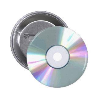 CD knäppas Standard Knapp Rund 5.7 Cm
