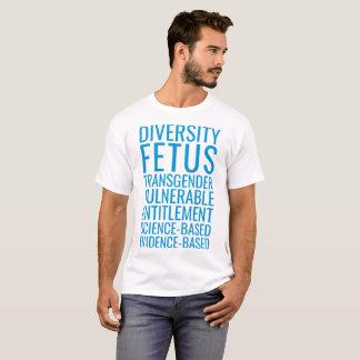 CDC förbjuden ord, politik 2017 T-shirts