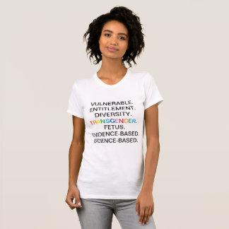 CDC förbjuden ord T-shirt