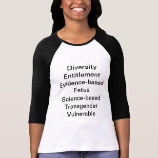 CDC förbjuden ord Tee Shirt