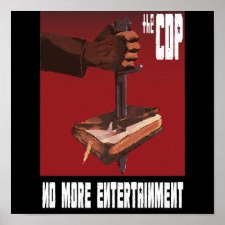 Cdp-propagandaaffisch Poster