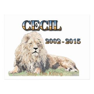 Cecil det lejont vykort